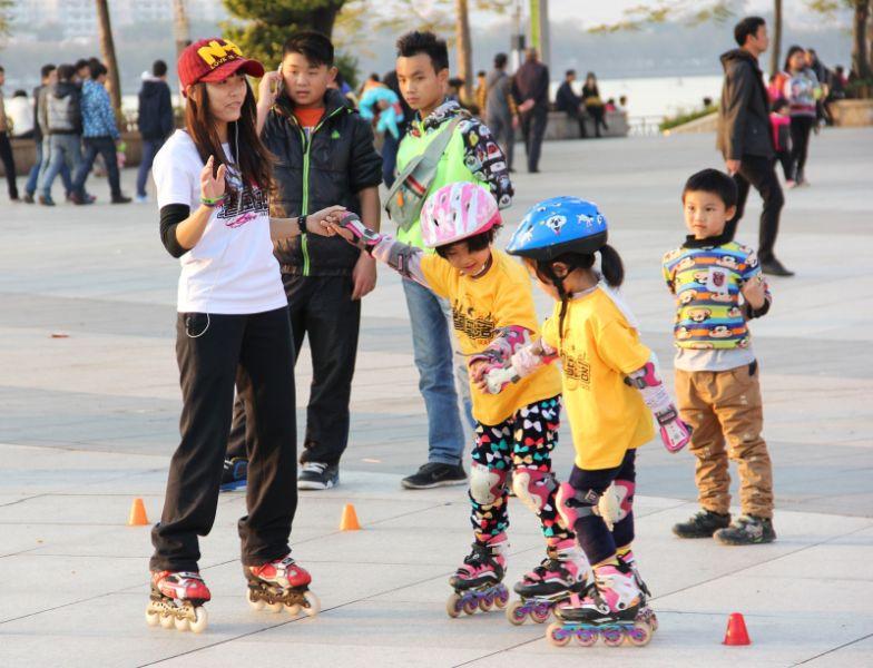 Korčuľovanie s deťmi