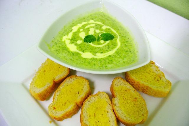 Špenátová polievka je preplnená živinami