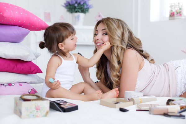 Mamička s dcérou