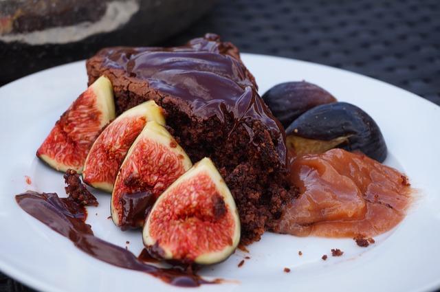 Čokoládový jalbčník s orechmi