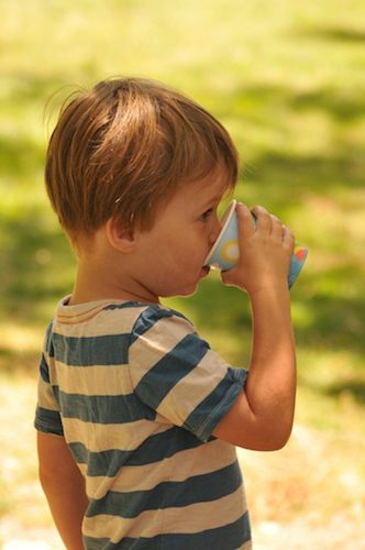 Čaj je zdravý aj pre deti