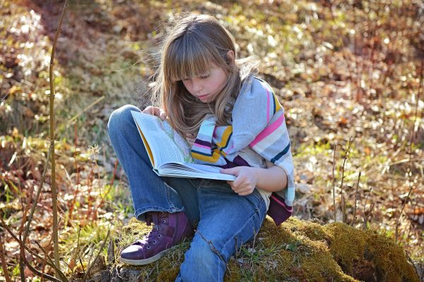 Čítanie kníh v detstve