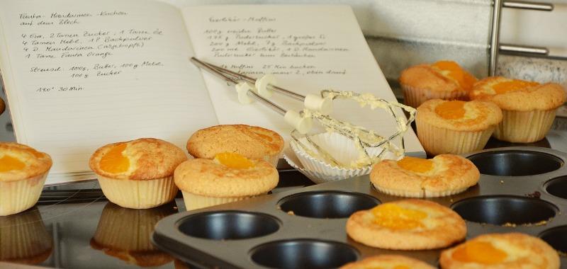 pečenie bezlepkových muffiniek