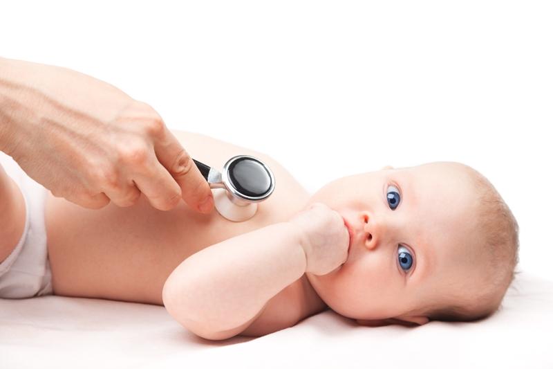 Vyšetrenie dieťatka