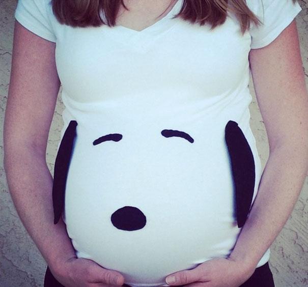 Halloweensky kostým pre tehuľky Snoopy