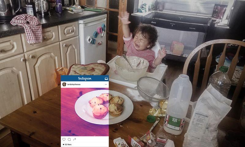 Rodičia na Instagrame