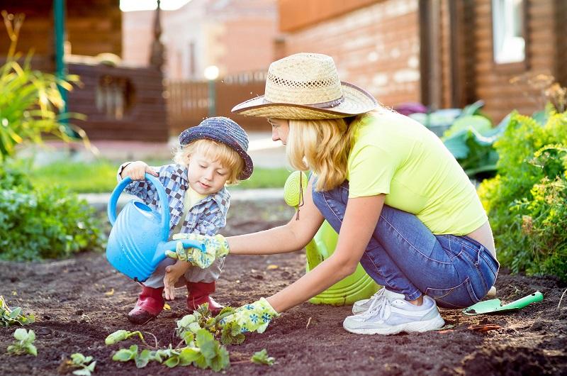 Jemná motorika a záhrada