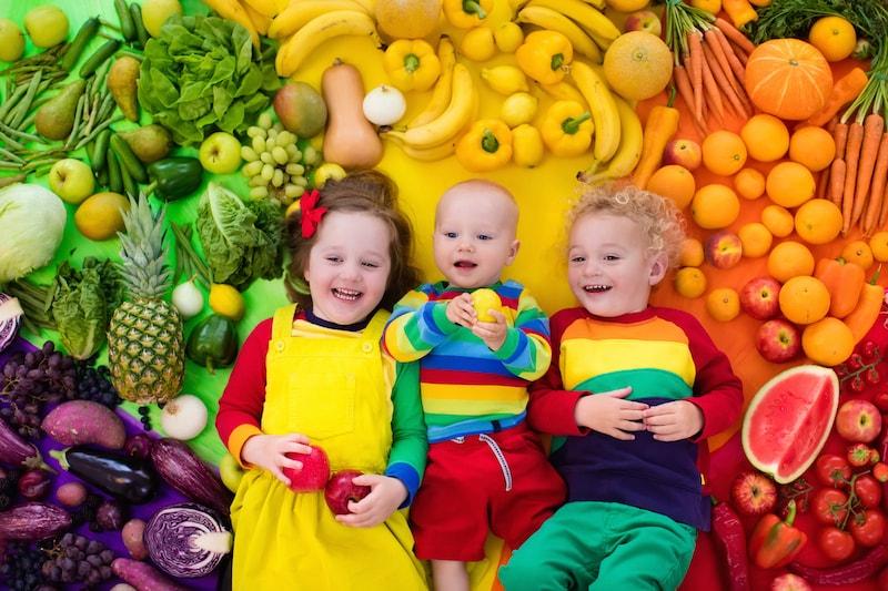 Deti surová raw strava