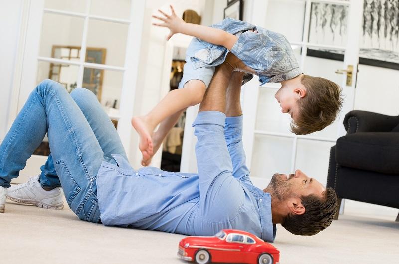 Hračky a rodičia