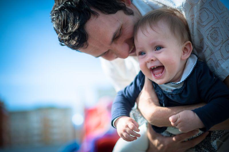 Otec s dieťatom