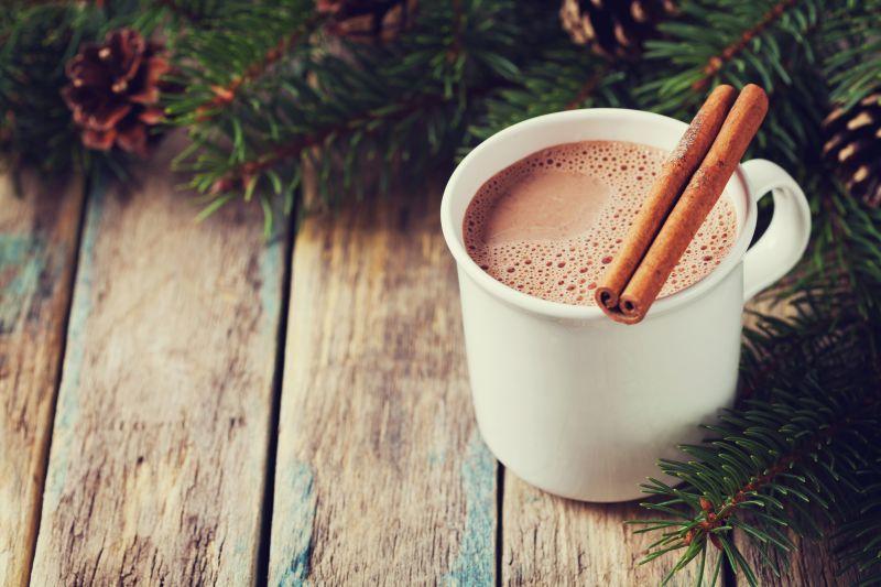 Horúca čokoláda s mandľovým mliekom