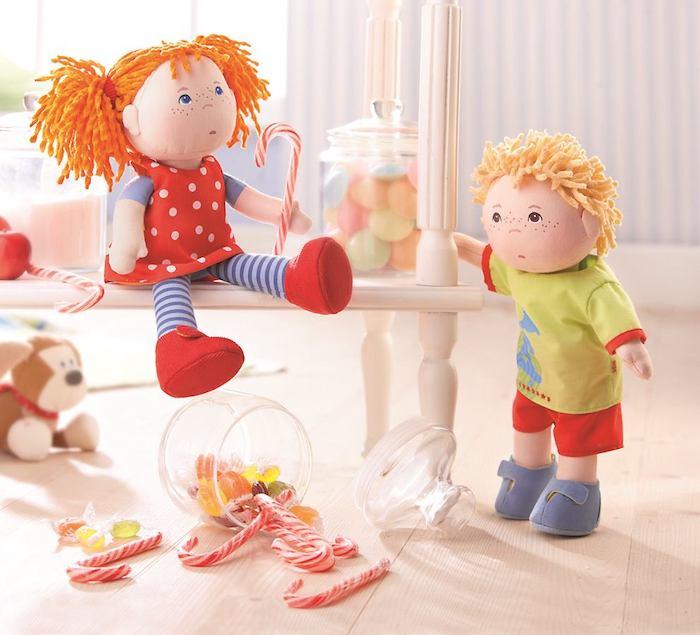 Textilná bábika Haba